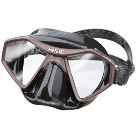 Mask Seac Sub L70 Brown